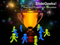 Winning Team Celebrating Success PowerPoint Templates And PowerPoint Themes 0812