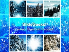 Winter Collage Holidays PowerPoint Themes And PowerPoint Slides 0811