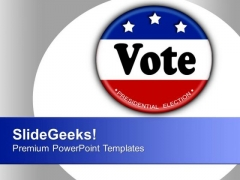 Word Vote Signifying Elections Government PowerPoint Templates Ppt Backgrounds For Slides 1112