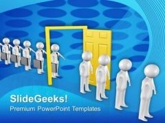 Workers Fired Business Concept PowerPoint Templates Ppt Backgrounds For Slides 0613