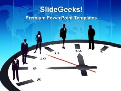 Working Hours Business PowerPoint Themes And PowerPoint Slides 0311
