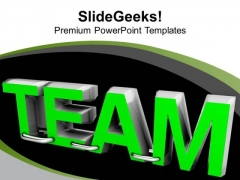 Working In Team Teamwork Concept PowerPoint Templates Ppt Backgrounds For Slides 0413