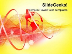 World Background Abstract PowerPoint Themes And PowerPoint Slides 0311