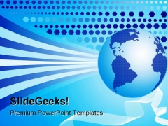 World Background Globe PowerPoint Themes And PowerPoint Slides 0511
