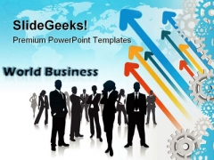World Business Global PowerPoint Templates And PowerPoint Backgrounds 0611