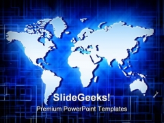 world map background for powerpoint