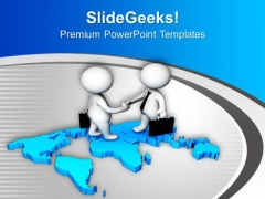 World Market Is Open For Business PowerPoint Templates Ppt Backgrounds For Slides 0613