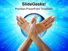 World Peace Global PowerPoint Themes And PowerPoint Slides 0711