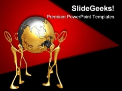 World Peace Global PowerPoint Themes And PowerPoint Slides 0811