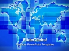 Worldmap Business PowerPoint Templates And PowerPoint Backgrounds 0611