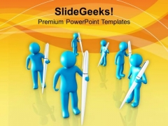 Writers Community Is Talented PowerPoint Templates Ppt Backgrounds For Slides 0713