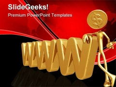 Www Dollar Internet PowerPoint Themes And PowerPoint Slides 0511