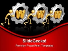Www Gears Industrial PowerPoint Themes And PowerPoint Slides 0611