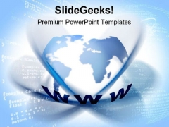 Www Global Internet PowerPoint Themes And PowerPoint Slides 0711