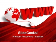 Www Internet Globe PowerPoint Templates And PowerPoint Backgrounds 0211