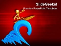Www Surfing Internet PowerPoint Themes And PowerPoint Slides 0811