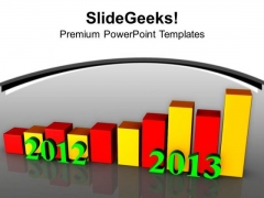Yearly Business Report For 2012 2013 PowerPoint Templates Ppt Backgrounds For Slides 0313