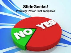 Yes And No Business PowerPoint Templates And PowerPoint Themes 0612