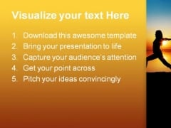 Yoga Health PowerPoint Themes And PowerPoint Slides 0711