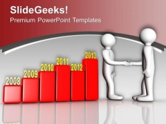 Your Good Business Results And Partnership PowerPoint Templates Ppt Backgrounds For Slides 0613