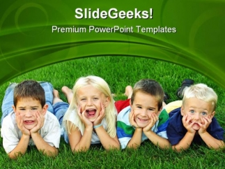 best_friends_children_powerpoint_themes_and_powerpoint_slides_0411_title