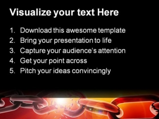 breaking_chain_business_powerpoint_themes_and_powerpoint_slides_0411_text