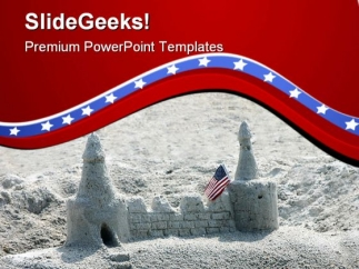 castle_in_the_sand_americana_powerpoint_templates_and_powerpoint_backgrounds_0611_title