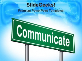 communicate_signpost_symbol_powerpoint_templates_and_powerpoint_backgrounds_1211_title