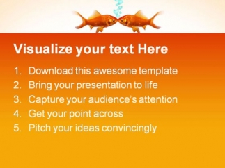 goldfish_in_love_animals_powerpoint_themes_and_powerpoint_slides_0611_text