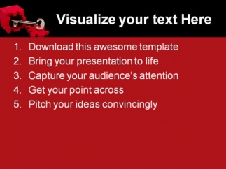 key_success_powerpoint_template_1110_text