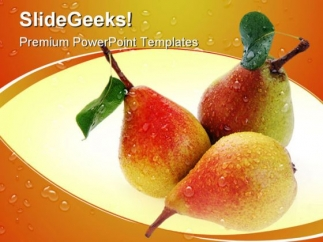 pears_and_leaves_food_powerpoint_templates_and_powerpoint_backgrounds_0211_title