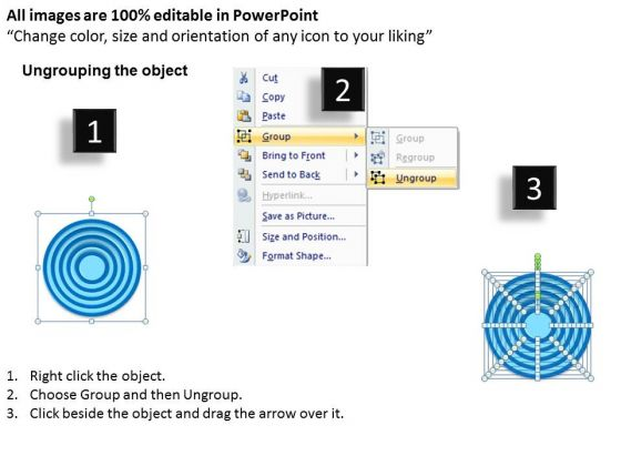 10_staged_circular_business_diagram_2