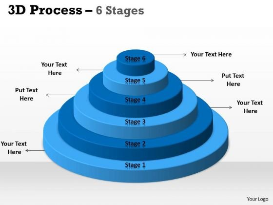 Business Cycle Diagram 6 Staged Circular Process For Sales Strategy Diagram