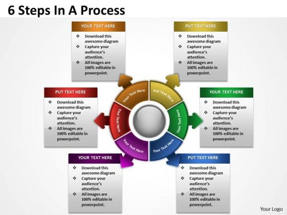 Business Cycle Diagram 6 Steps In A Diagrams Process Strategy Diagram