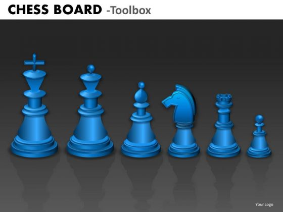 Business Cycle Diagram Chess Board Strategic Management