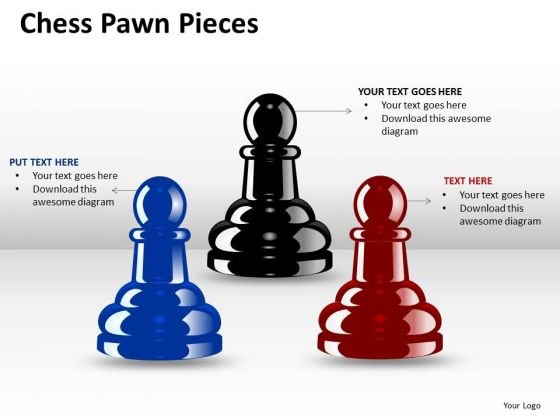 Business Cycle Diagram Chess Pawn Pieces Ppt 2 Strategy Diagram