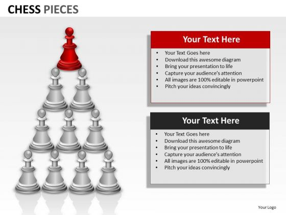 Business Cycle Diagram Chess Pieces Marketing Diagram