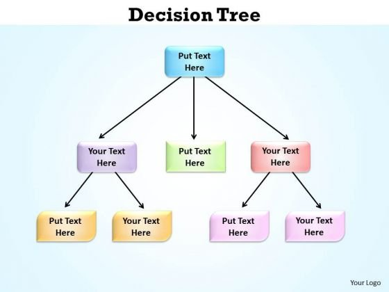 Business Cycle Diagram Decision Tree PowerPoint Slides Presentation Strategic Management