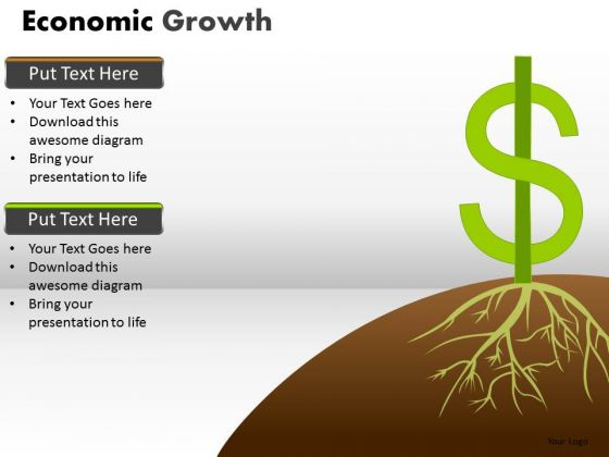 Business Cycle Diagram Economic Growth Business Diagram