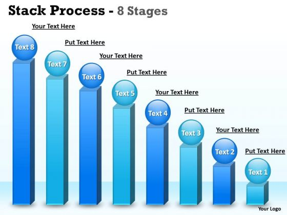Business Cycle Diagram Eight Stages Stack Diagram Business Bar Graph Strategy Diagram