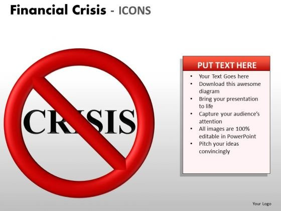 Business Cycle Diagram Financial Crisis Icons Mba Models And Frameworks