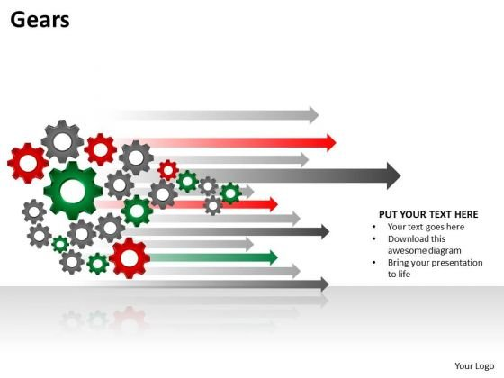 Business Cycle Diagram Gears Sales Diagram