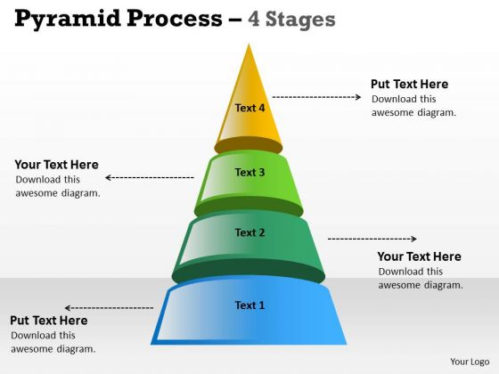 Business Cycle Diagram Independent Process With 4 Stages Strategy Diagram