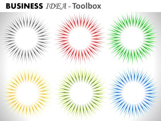 Business Cycle Diagram Presentation Business Diagram