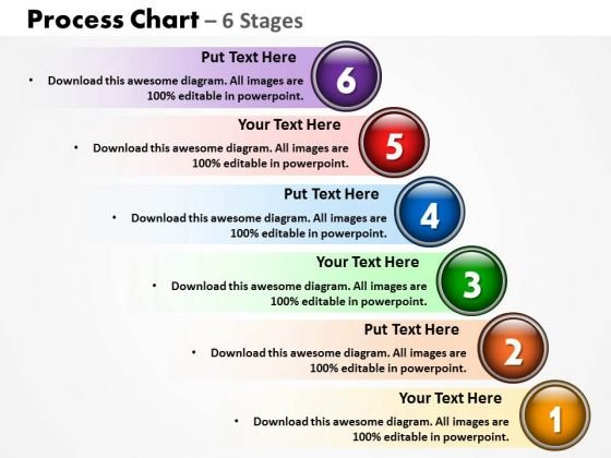 Business Cycle Diagram Process Chart With 6 Stages Strategy Diagram
