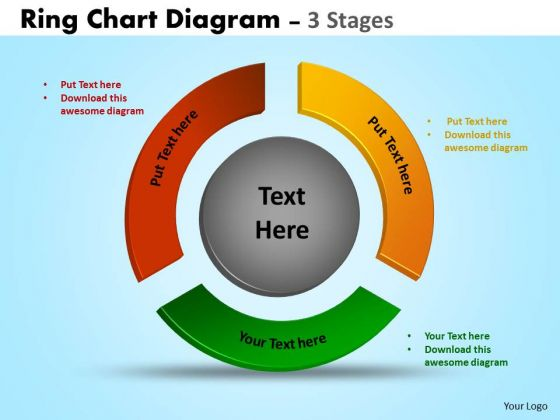 Business Cycle Diagram Ring Chart Diagrams Strategy Diagram