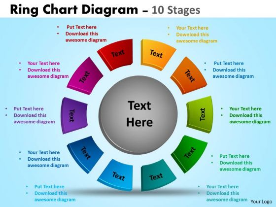 Business Cycle Diagram Ring Chart Diagrams Templates Marketing Diagram