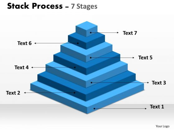 Business Cycle Diagram Stack Process Diagram With 7 Stages Strategy Diagram