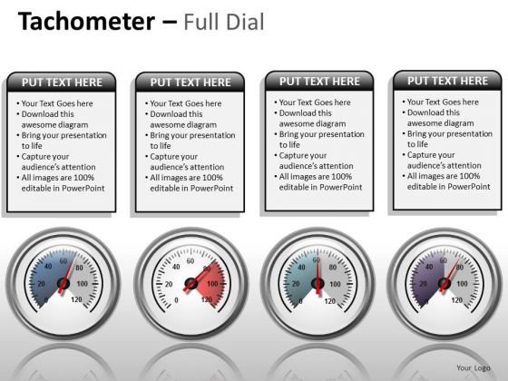 Business Cycle Diagram Tachometer Full Dial Business Framework Model