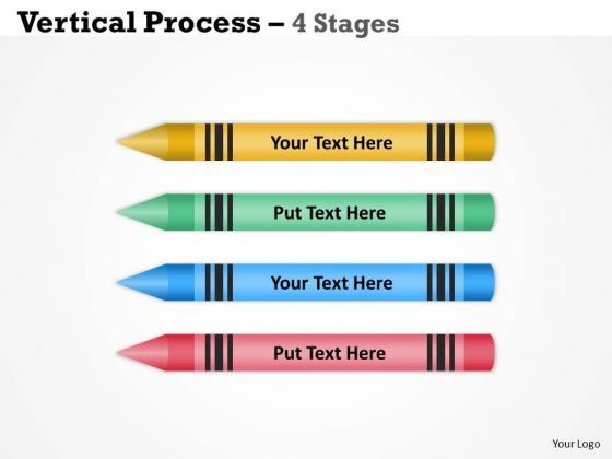 Business Cycle Diagram Vertical Process Four Stages Diagram Sales Diagram